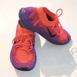 Women's Nike Free Flyknit 3.0 Running Shoes
